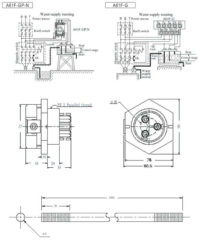 diagram  omron floatless level switch wiring diagram full
